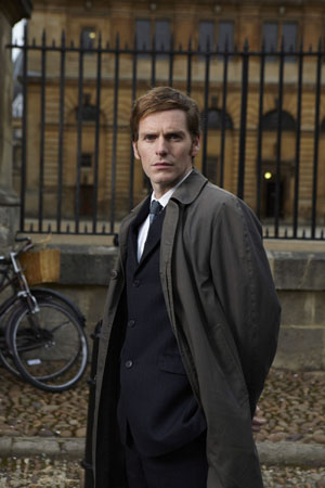Shaun Evans as Endeavour Morse