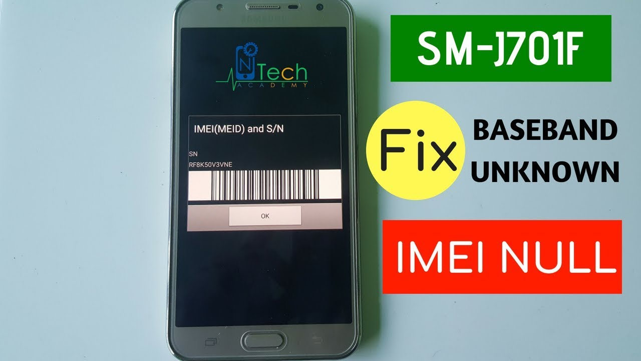SMART TECH SUPPORT: SAMSUNG J701F BASEBAND UNKHOWN REPAIR FILE J701F