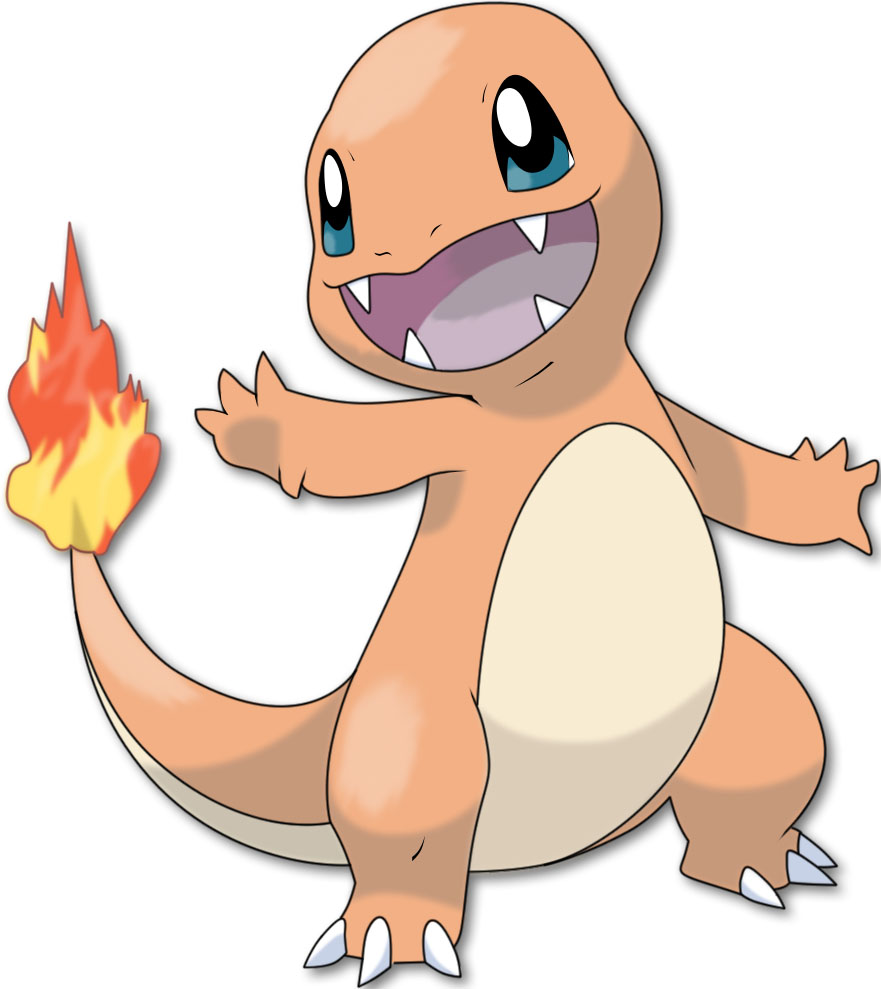 pokémon fogo charmander