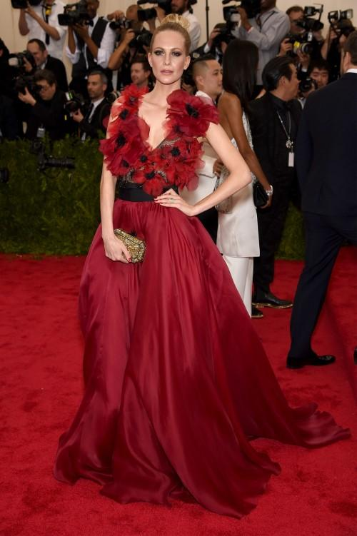Poppy Delevingne in Marchesa Poppy