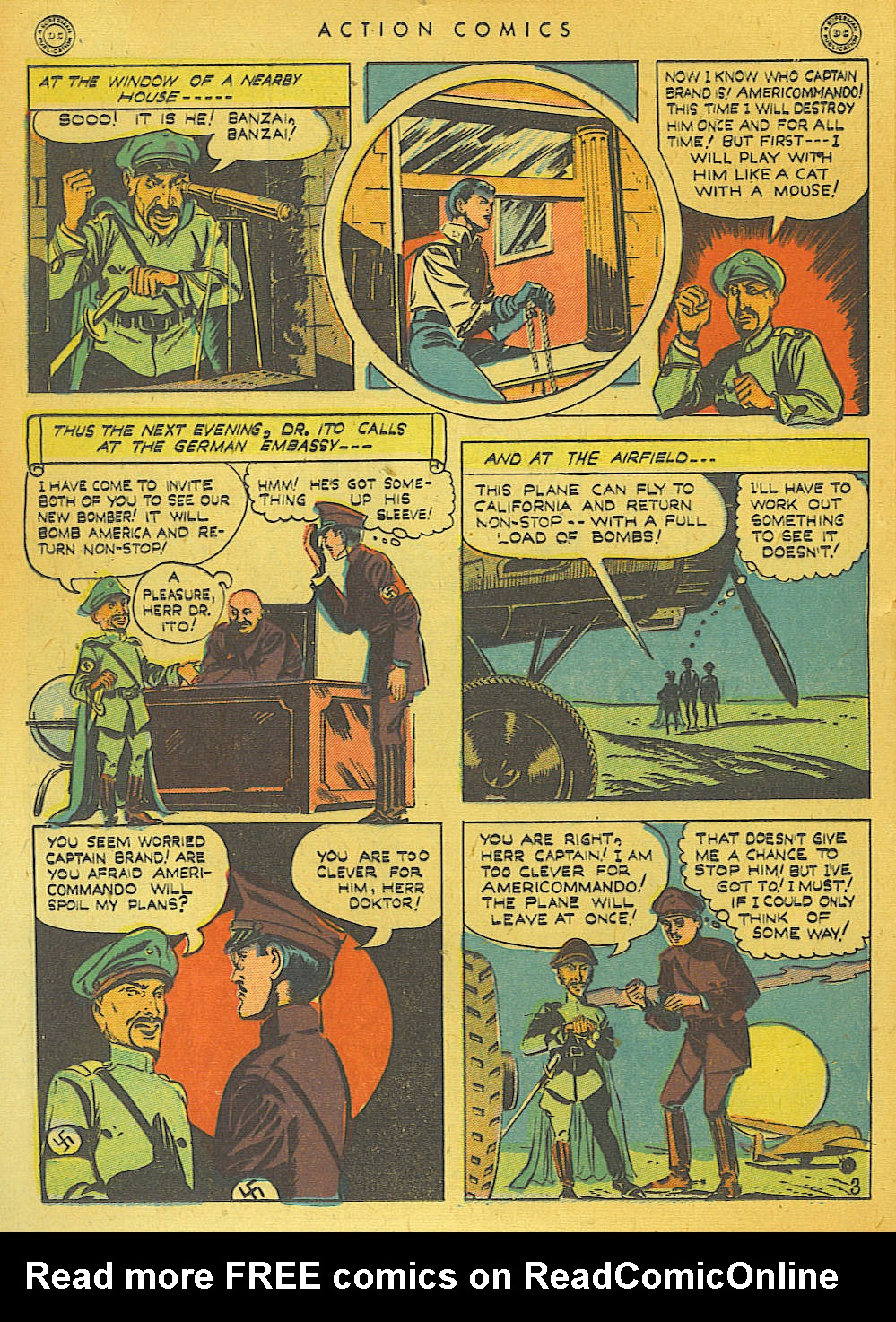 Read online Action Comics (1938) comic -  Issue #74 - 42