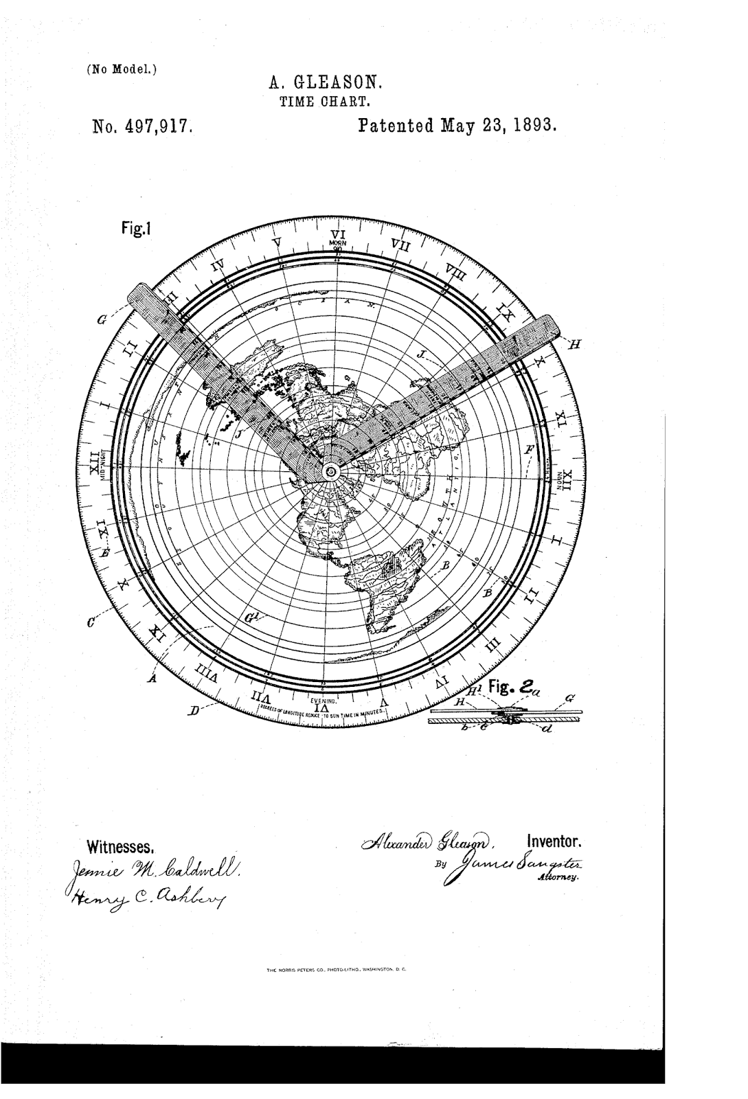 The Earth Is Not Flat Gleasons Map - Equidistant point calculator us map
