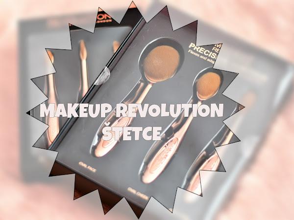 Štetce Makeup Revolution - recenzia