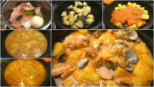 Guisat Peix guiso pescado receta
