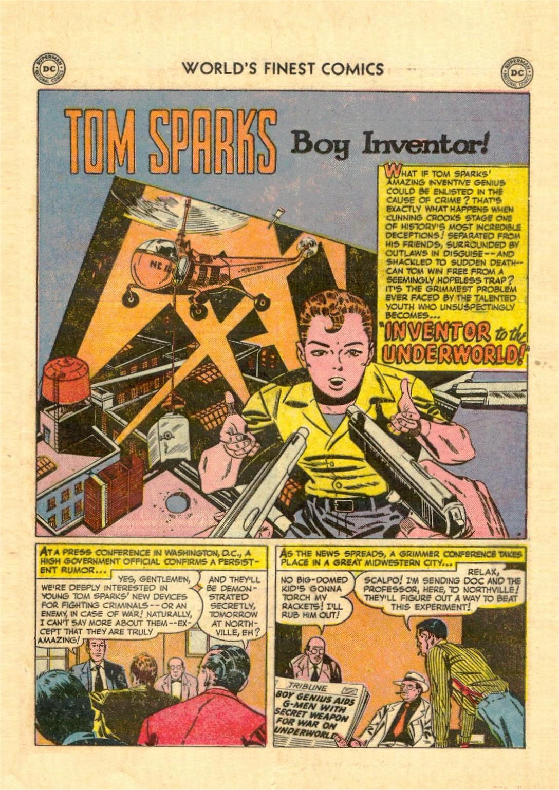 Read online World's Finest Comics comic -  Issue #52 - 53