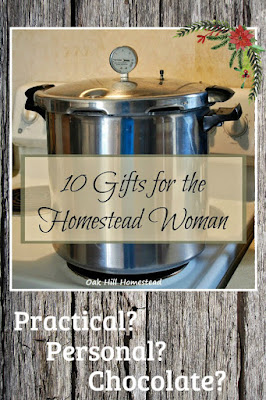 What do you give the homesteading woman? Here are 10 ideas from practical to personal.