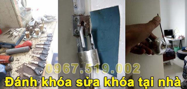 Dịch vụ sửa khóa cửa tại nhà giá rẻ nhất Hà Nội
