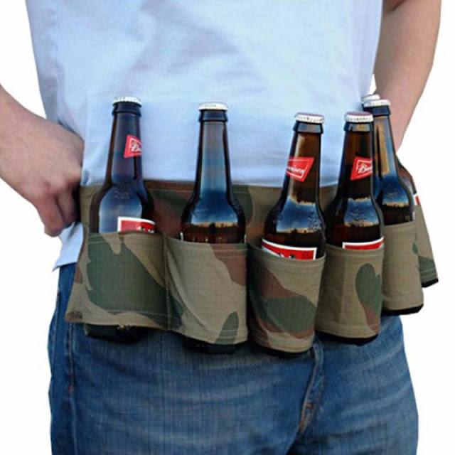 Portable Six Beer Handy Waist Holster