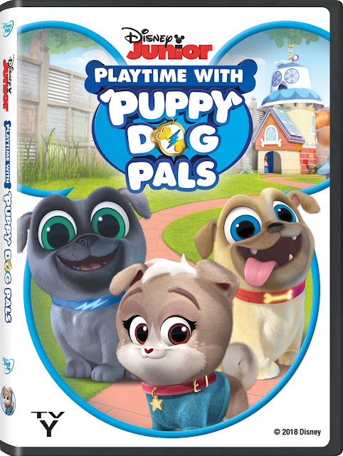 Puppy Dog Pals on DVD