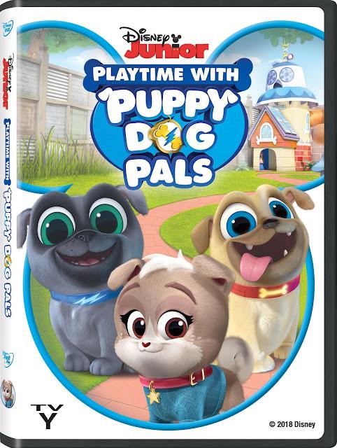 Puppy Dog Pals on DVD