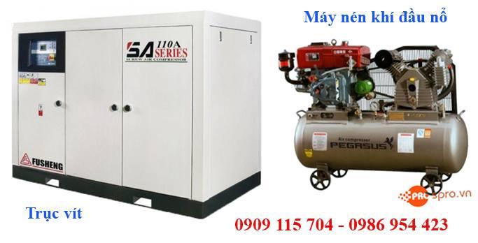 Mua máy nén khí, bình bơm hơi khí nén giá bao nhiêu tiền