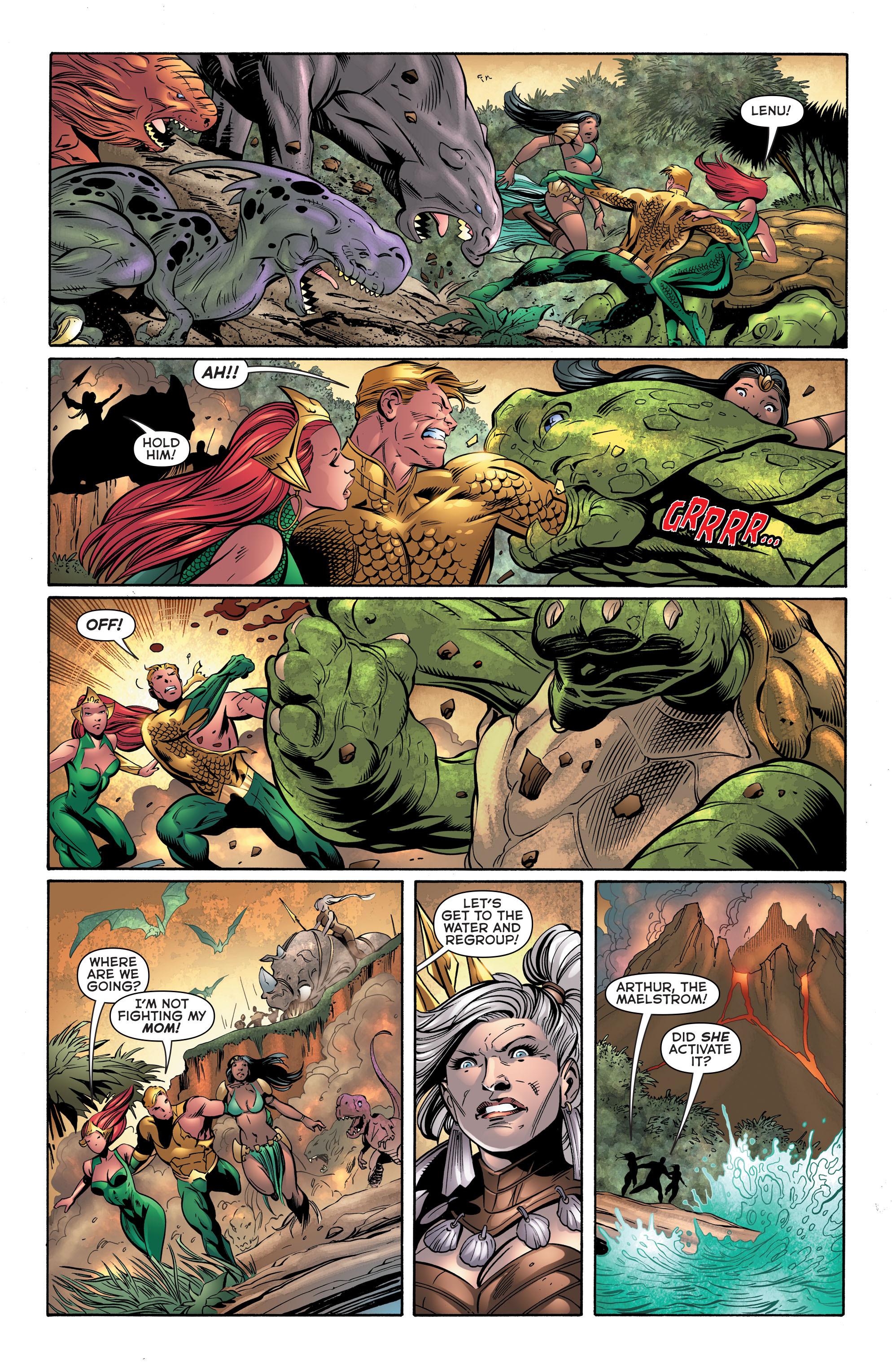 Read online Aquaman (2011) comic -  Issue #39 - 14
