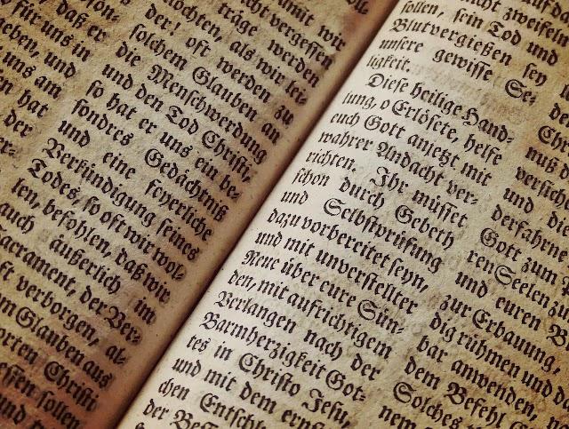 Bibbia e spiritualità #passeggiandoneilibri