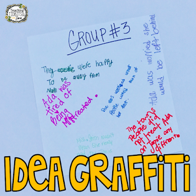 Idea Graffiti Formative Assessment