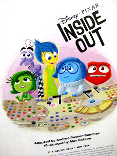 pixar inside out little golden book