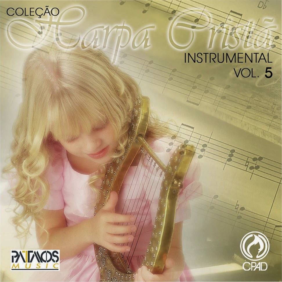 Patmos Music-Coleção Harpa Cristã Instrumental-Vol 5-