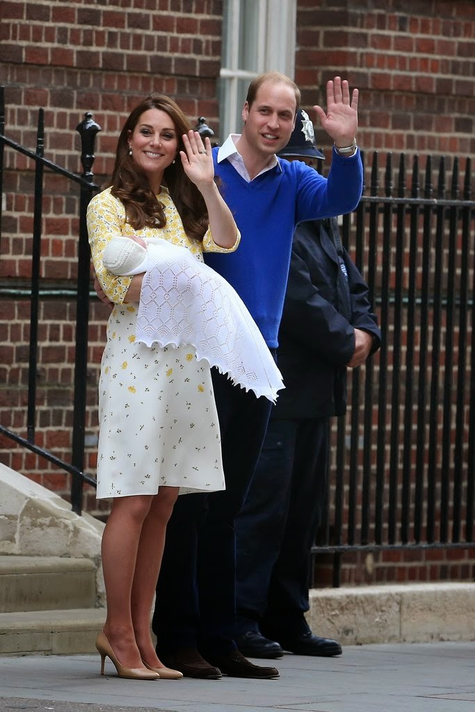 Prince William and Kate Middleton Introduce Their Baby Girl