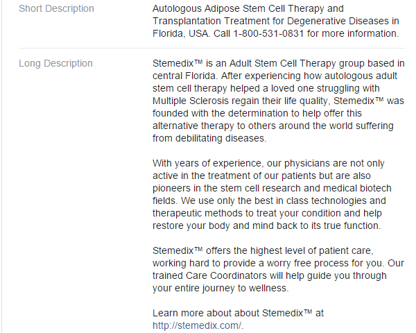 Investigation on Stemedix: Stemedix's Marketing Strategy