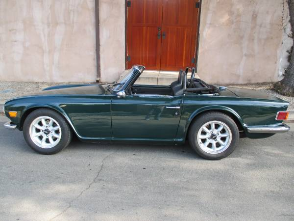Triumph Tr 6 With Nissan Rb25det Power