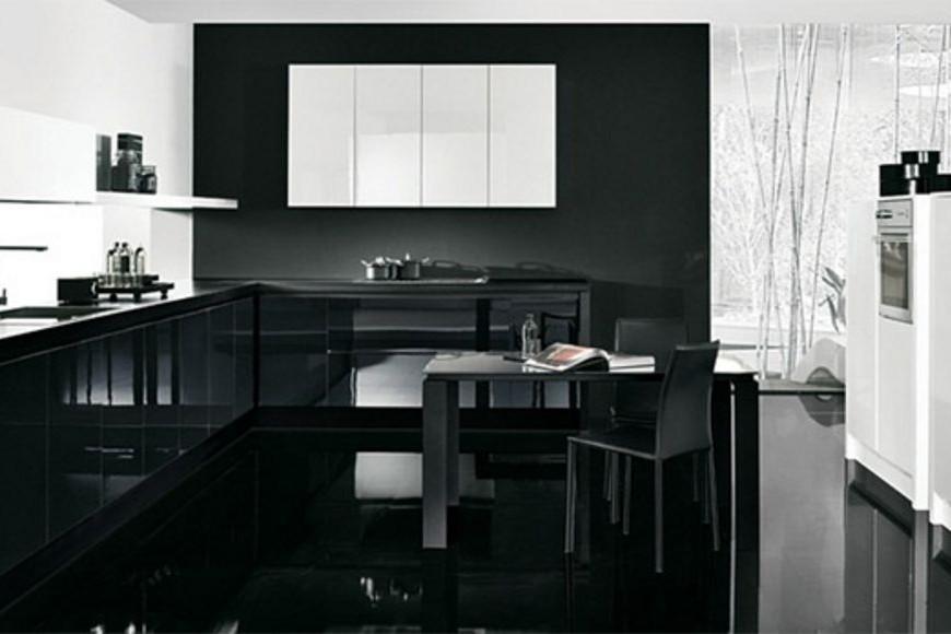 Design & Fashion: Cucina bianca e nera