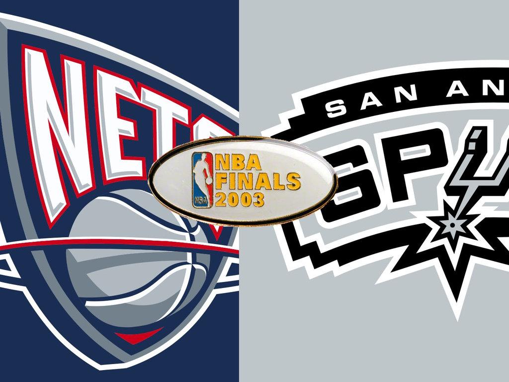DAR Sports  2003 NBA Finals- San Antonio Spurs vs New Jersey Nets ... b7ad9571d