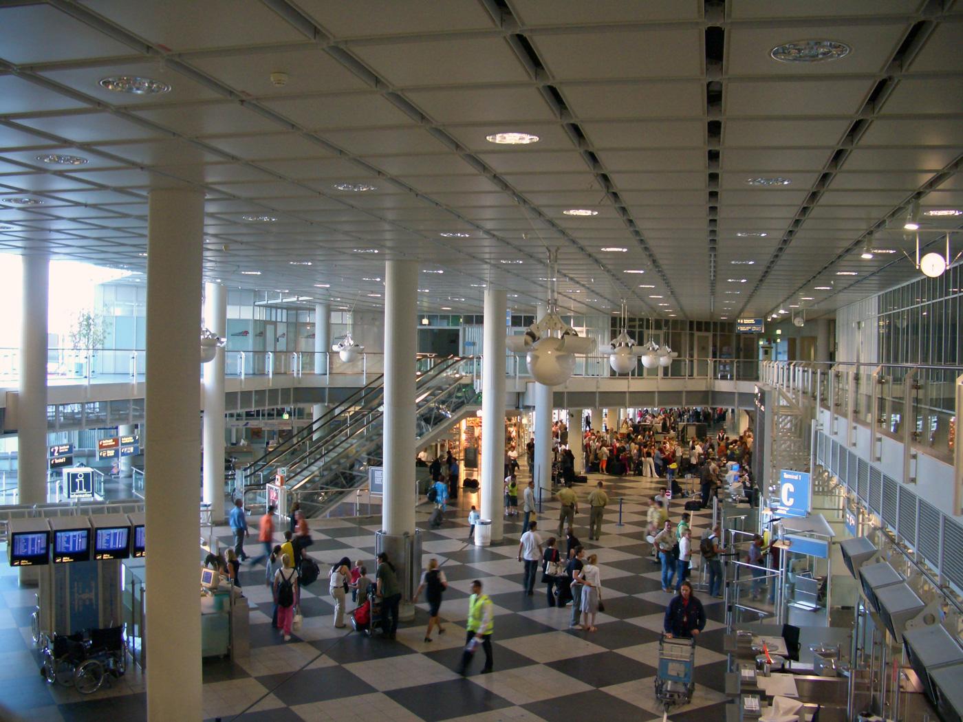 Destinations: Prayer Room at Munich Airport