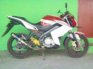 Modifikasi Motor Yamaha Vixion 15