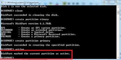 Cara Buat Bootable Flashdisk Windows 7 Tanpa Menggunakan Software Apapun