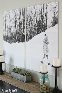 Split-Photo Engineer Print Wall Art via housebyhoff.com