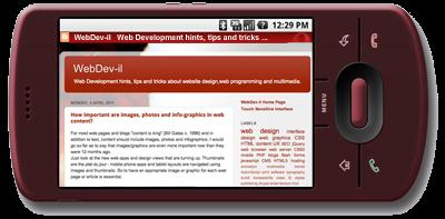 Webdev Il Mobile Web Design Viewport Size Vs Screen Resolution Viewport Meta Tag