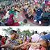 Kapolda Sumut Bersilahturahmi Dengan Ribuan Pemulung, Tukang Tambal Ban, Tukang Cukur Rambut Dan Penjual Koran