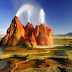 Fly Geyser Nevada