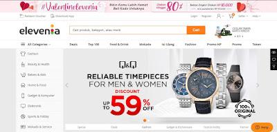 Contoh Web E-Commerce | Situs Toko Online