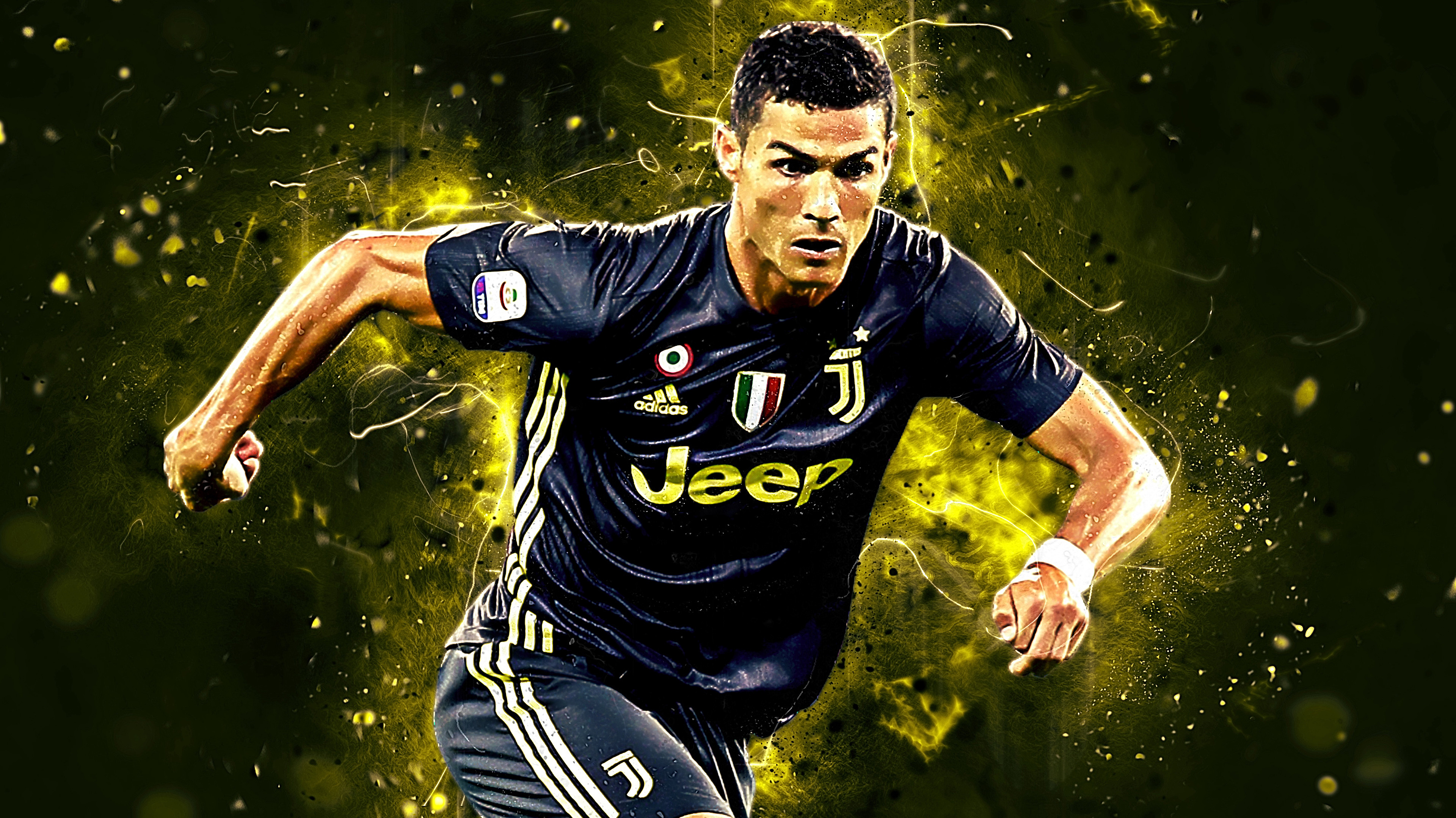 Cristiano Ronaldo Football 4k Wallpaper 377