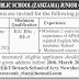 Army Public School (Zamzama) Nowshera Cantt Jobs