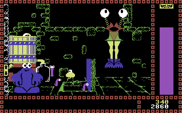 vgjunk the trap door c64