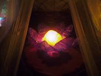 Lámpara Flor de loto