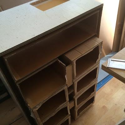 réduction meuble en carton