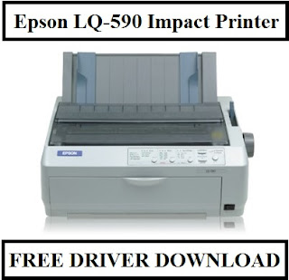 Epson LQ-590 Impact Printer, Free Driver Download