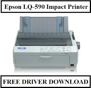 Epson LQ-590 Impact Printer, Free Driver Download
