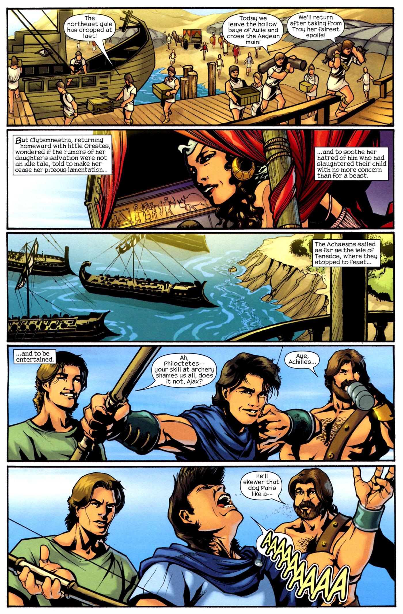 Read online Trojan War comic -  Issue #2 - 10