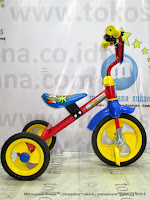 PMB 919 Safari BMX Tricycle with Police Sirene Light