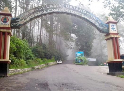 Destinasti Objek Wisata Taman Tangkuban Perahu Di Guntur Dki