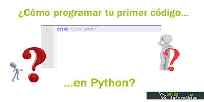 Primer código en Python