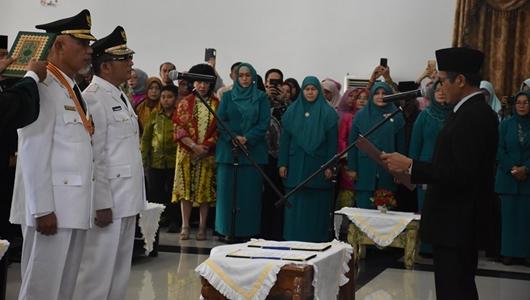 Pelantikan Wako dan Wawako Padang, MAHEN Masa Depan Kota yang Memiliki Daya Tawar