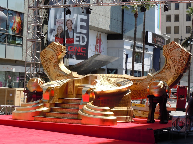 Thor Hollywood premiere Odin's Throne