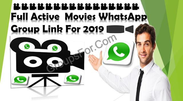 Latest Movies WhatsApp Group Links For 2019_🎥Hollywood And