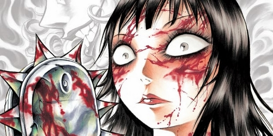 Bloody Delinquent Girl Chainsaw, Manga, Akata, Actu Manga, Rei Mikamoto,