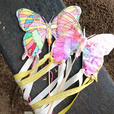 papillons à danser
