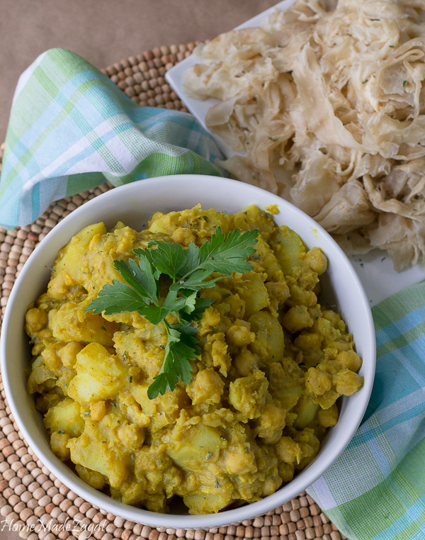 Curry Channa and Aloo Recipe